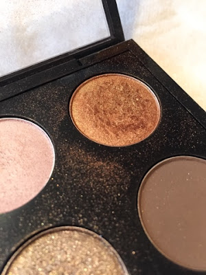 Mac's amber lights eye shadow