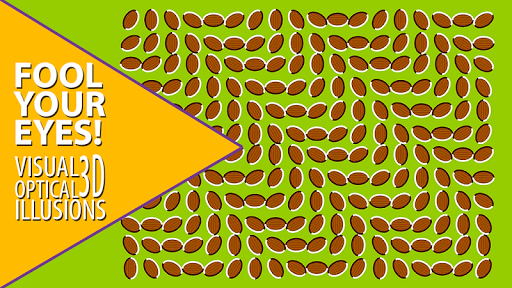 Visual optical illusions