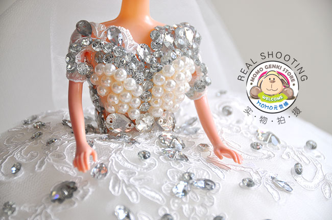 Malay Wedding Gift Exchange : Wedding Dress Barbie DollBest Wedding/Valentine/Birthday Gift ...
