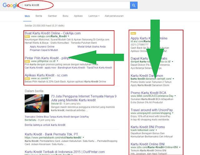 cara mendapatkanuang dari google