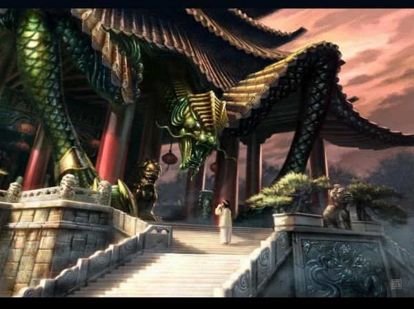 Dragon Temple, Magical Landscapes 1