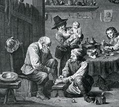 cirujanos barberos medicina medieval