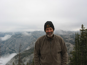 Photo: Charles Kemp in the Wind Rivers