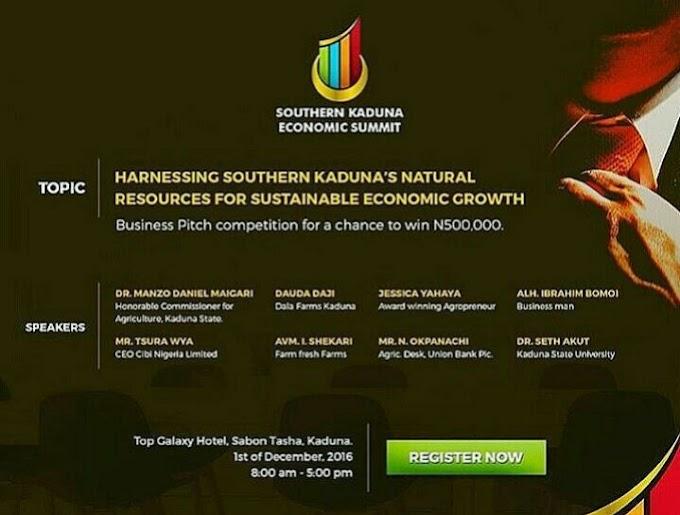 Southern Kaduna Economic Summit.