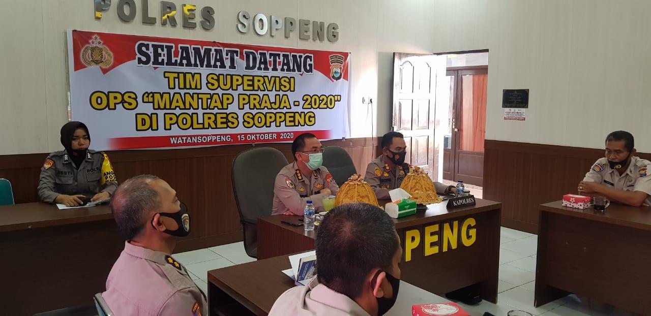 Tim Supervisi Itwasda Polda Sulsel Kujungan Kerja Di Polres Soppeng