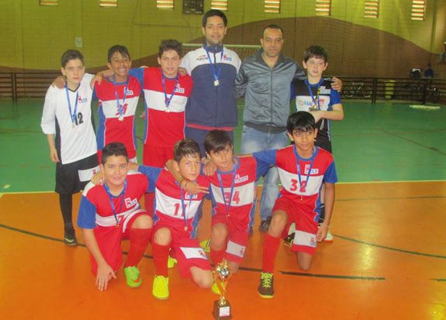 G.U.S vence Torneio Olé São Roque de Futsal, categoria Sub 12