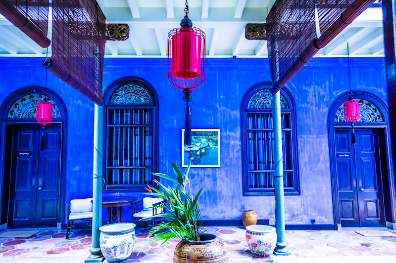 Penang Cheong Fatt Tze Mansion (Blue Mansion) hallway6