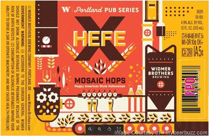 Widmer Brothers Portland Pub Series Hefe X