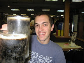 "here's to Kelly ""one shot"" Wikstrom, chili cheese dogs and frosty mugs of root beer to wash 'em down with!"