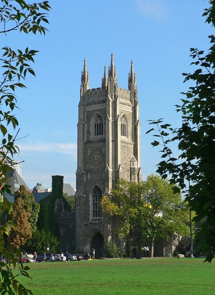 Soldiers Tower with Carillon U of Toronto