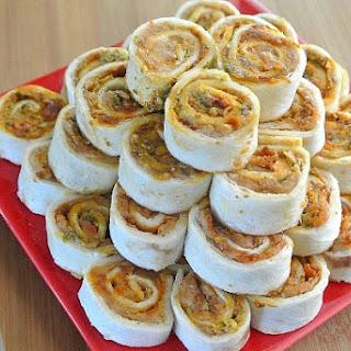 Pesto Tortilla Rollups