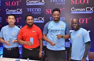 Tecno Camon cx mancity launched