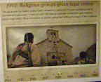 1992:  Religious groups given legal status