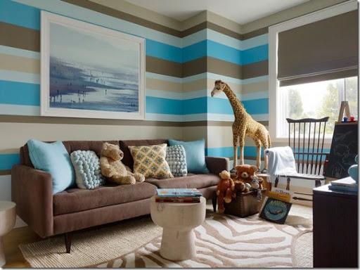 Famoso Decorare le pareti con strisce dipinte - Case e Interni CM51