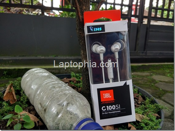 Unboxing JBL C100SI In-Ear Headphone: Murah Meriah
