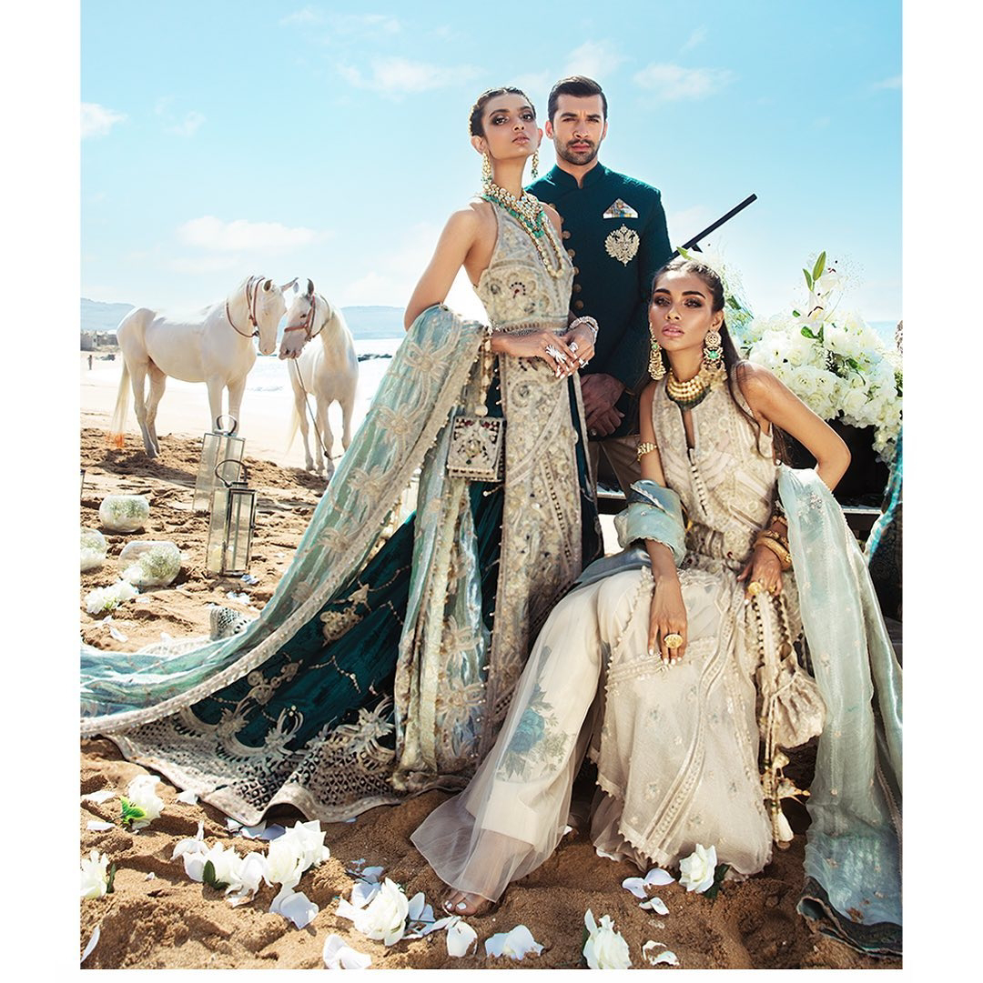 Shehla Chatoor bridal and groom wedding collection