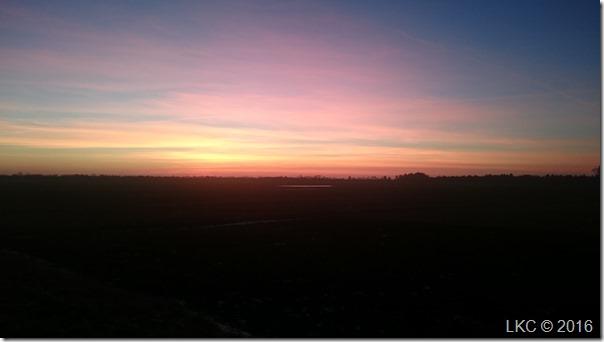 februar aftenlys