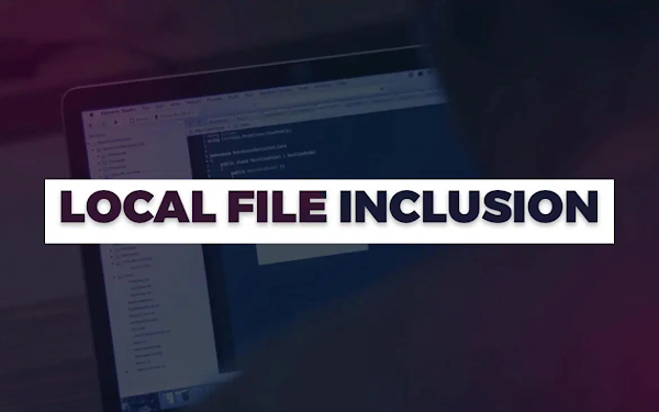 apa itu Local File Inclusion (LFI) ?
