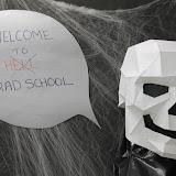 Hayes Lab Halloween Door 2015