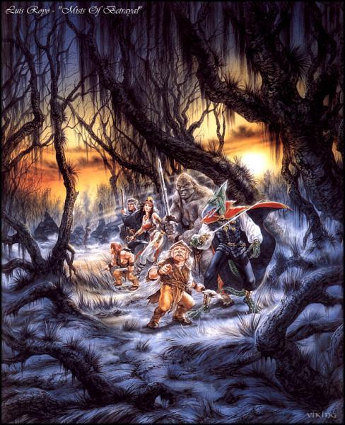 Mists Of Betrayal, Magick Warriors 5