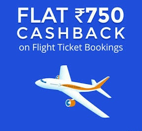 (All Users) Paytm - Get Rs.750 Cashback on Flight Ticket Booking (No Minimum Booking)