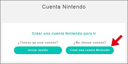Abrir mi cuenta en Nintendo - 736