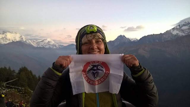 Gordana Pavković Pasecky na Annapurna treku u Nepalu