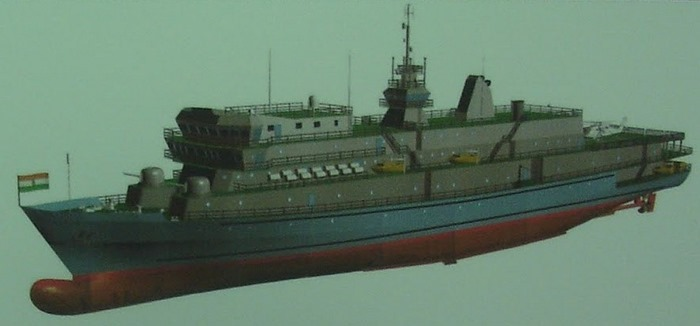 Cadet Training Ship - Indian Navy - ABG Shipyard - 01