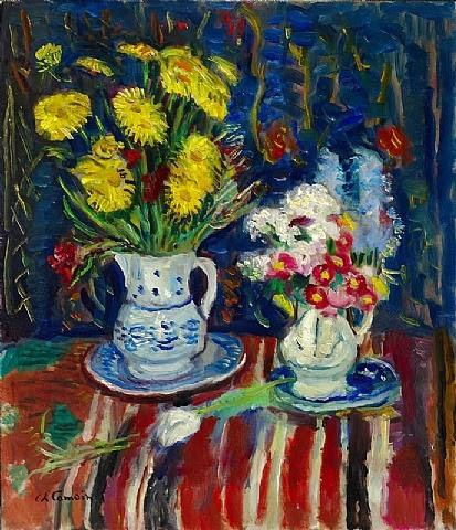 Charles Camoin - Les deux bouquets