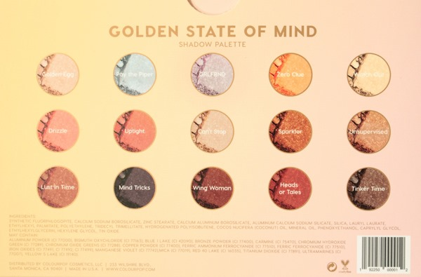 GoldenStateOfMindShadowPaletteColourPop1