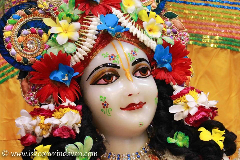 ISKCON Vrindavan Shringar Deity Darshan 11 May  2016 (14)