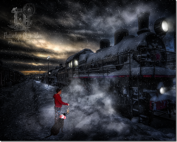 Polar Express Matt & Caleb (copyright Jenny@FlutterbyeChronicles)