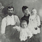 David Alexander Gleaves' sister Minnie and family