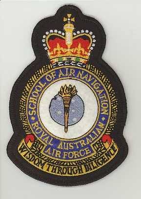 RAAF School of Air Navigation crown.JPG