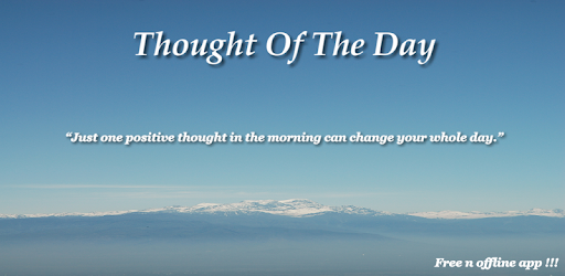 Thought Of The Day Apps On Google Play