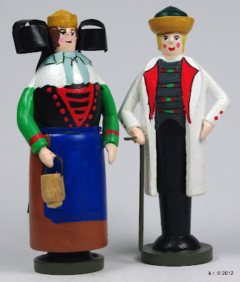 Bauernpaar aus Bückeburg
