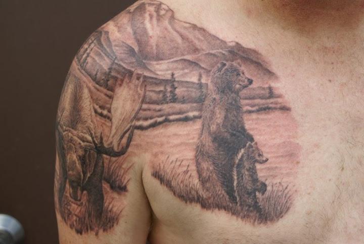 Keven's Moose & Bears