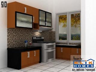 Harga Kitchen Set Kitchen Set Dengan Warna Coklat Manis