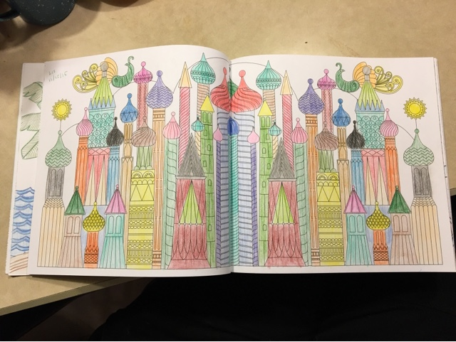 Its Been A Very Merry Christmas With My Splendid Cities Coloring Book