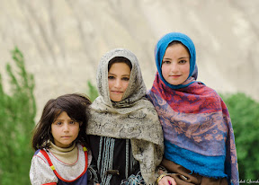 Innocent faces from Hopar valley.