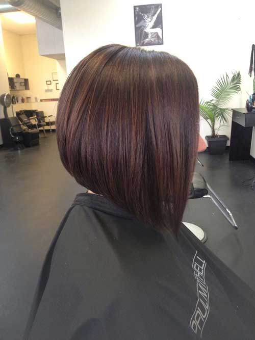 Beautiful Brown Bob for Dark Hair Styles Fashion Qe