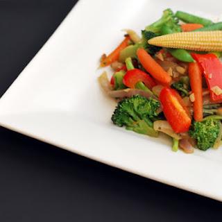 Veggie Stir-fry - Trader Joe Easy Meal.