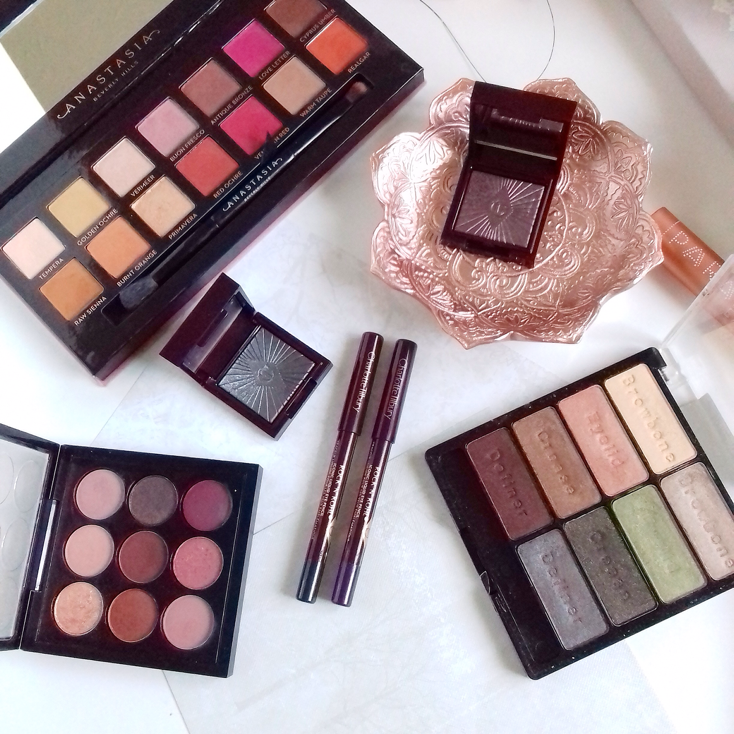 Eyeshadow Palettes that will provide Autumnal shades