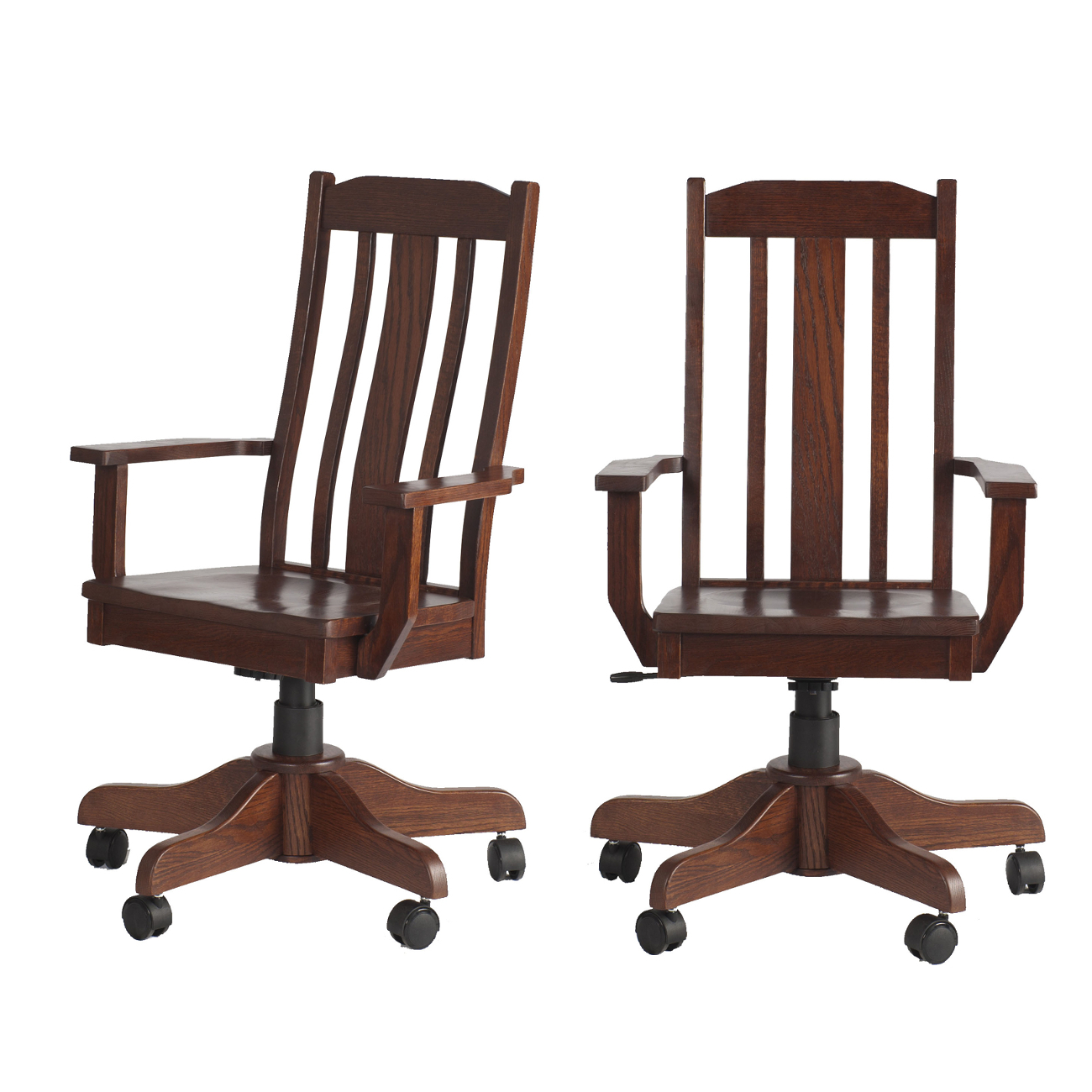 Plains Mission Office Chairs | Office Chair in the Plains Mission Style