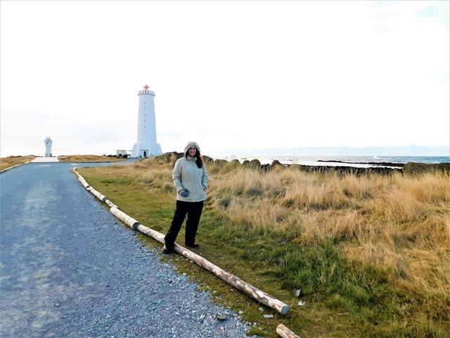 Akranes lighthouses Iceland