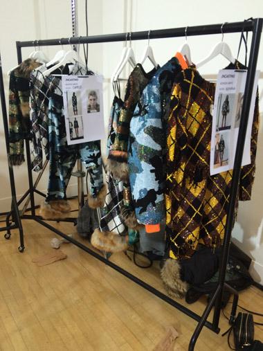 ashish collection backstage london fashion week 2015