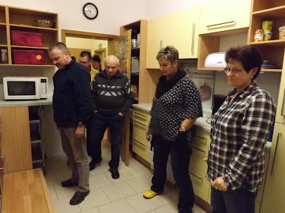 Die neue Küche der Einrichtung mit der Möglichkeit auch die Kinder mit einzubeziehen... (Bild: ASC)