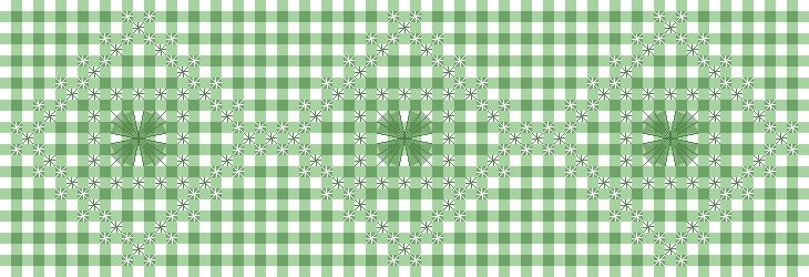 4-Clover Woven Stitch Pattern