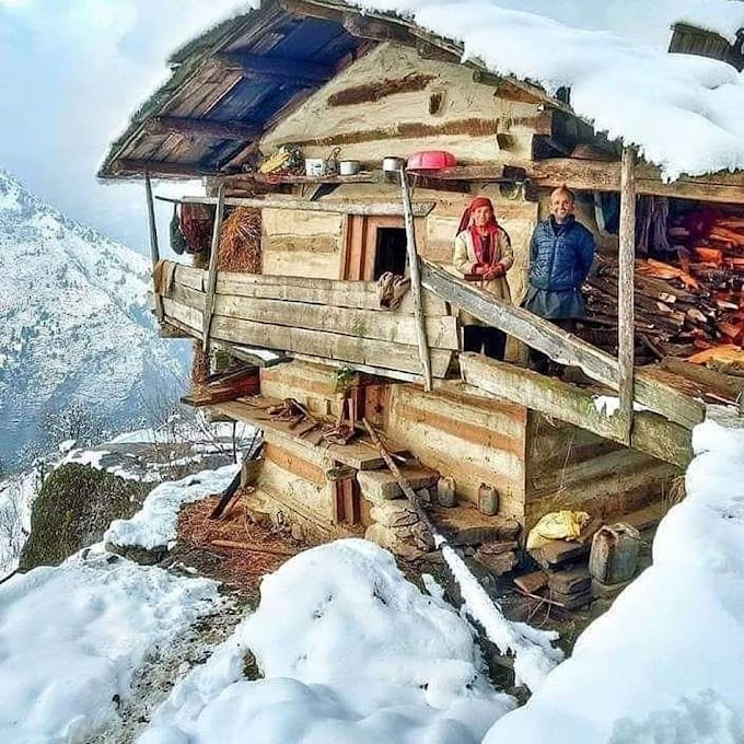 What a weather 🤗 With rain and snow, winter chill is back in Himachal Pradesh