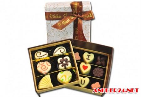 Những hình ảnh đẹp của kẹo socola trong ngày lễ valentine và 8-3